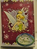 Disney Fairies 10 Holiday Cards with Envelopes - All One Design