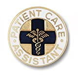 Prestige Medical Patient Care Assistant professional cloisonne emblem pin
