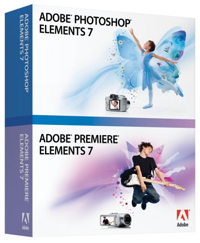 Adobe Photoshop Elements 7 and Premiere Elements 7 Bundle (PC)