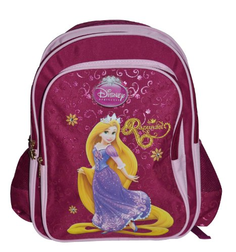 Simba Simba Disney Princess Hue Pattern 2 Backpack, Multi Color (18-Inch) (Multicolor)