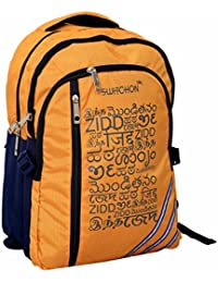 Kuber Industries™ 30 Ltrs College Bag, Casual Daybag Backpack (Yellow) - KI9011
