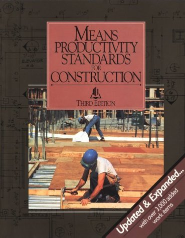 Means Productivity Standards for Construction