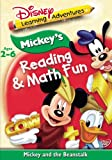 Disney's Learning Adventures - Mickey's Reading Math and Fun - Mickey and the Beanstalk