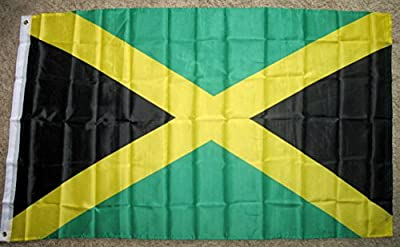 Jamaica Flag 3'x5' Jamaican Country Banner