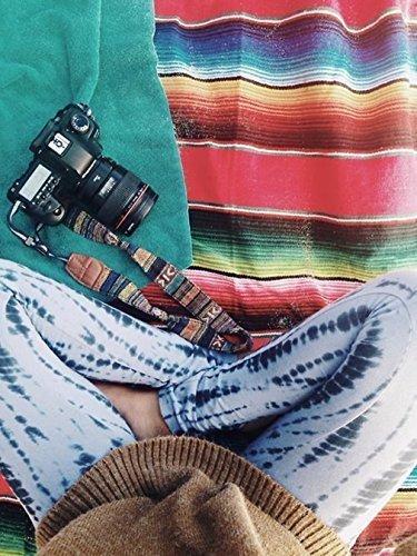 Dslr Camera Strap, Bohemian stylish camera strap, Ecoastal® Camera Straps For Canon/Nikon/Olympus , Camera Neck strap, Fabrics, 1PCS