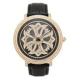 BRILLAMICO(ブリラミコ) 腕時計 ゴールド×ブラック BRM-002-BG ユニセックスモデル(メンズ レディース) 【受注生産品】