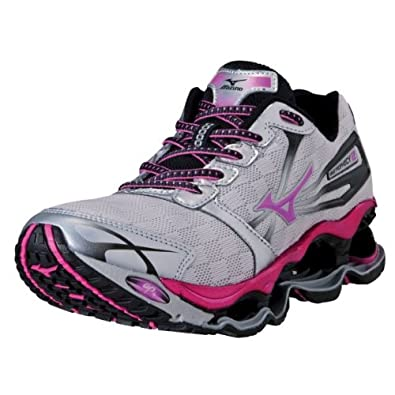 Mizuno Women's Wave Prophecy 2 Running Shoe,Pink,6 B US