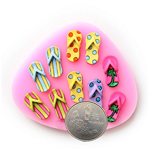 Slippers Fondant Cake Decorating Mold Chocolate Decoration Supplies. (Ballet Slipper Resin compare prices)