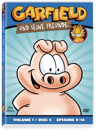 Garfield und seine Freunde, Vol. 1.2: Episoden 9-16