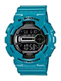 Casio Men's G-Shock GD110-2 Blue Resin Quartz Watch with Digital Dial