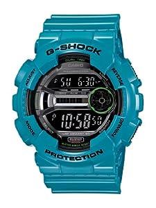 Casio Men's GD110-2 G-Shock Blue Resin 60 Lap Digital Sport Watch