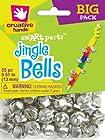 Fibre Craft - Creative Hands 58912 62E 55-Piece Value Pack Jingle Bells Decorative Supplies