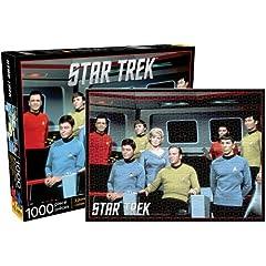 Star Trek Original Cast Jigsaw Puzzle, 1000-Piece
