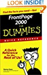 FrontPage 2000 for Dummies Quick Refe...