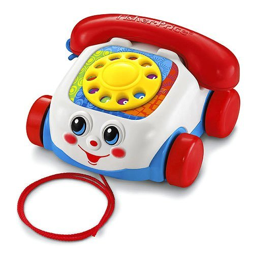 Fisher-Price Brilliant Basics Chatter Telephone - 1