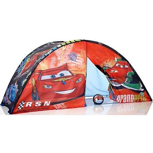 Disney Pixar Cars 2 Bed Tent u0026 Push Light RED/BLUE  sc 1 st  Childrens Bed Tents & Childrens Bed Tents: Best Prices Disney Pixar Cars 2 Bed Tent ...