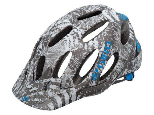 Giro Xen Matt Titanium/Cyan Blue Collage (Size: S 51-55 cm)