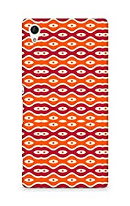 Amez designer printed 3d premium high quality back case cover for Sony Xperia Z4 (Texture2)