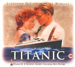 amazoncom titanic limited edition gift box vhs