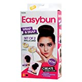 Brunette Easy Buns Large&Small Elegant Casual Hair Magic Style Bun Maker