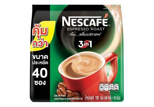 Nescafé 3 In 1 Espresso Roast Instant Coffee - 720 G