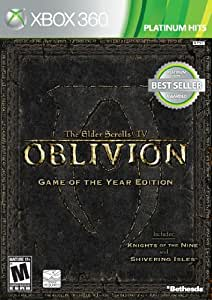 Elder Scrolls IV: Oblivion Game of the Year Edition -Xbox 360