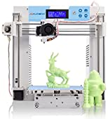 JGAURORA 3d Printer Desktop DIY 3d Printers Kit Self Assembly Metal Frame Prusa i3 Rapid Prototype