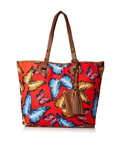 Isabella Fiore Women's Tahiti Tote, Butterfly