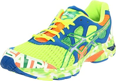 ASICS Men's GEL-Noosa Tri 7 Running Shoe,Pop Yellow/Tropical Green/Noosa Glow,8.5 M US