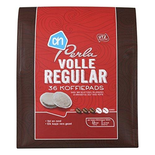 perla-regular-koffiepads-gemalen-koffie-perla-regular-grounded-coffee-pads-882oz-pack-of-3-by-albert