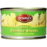 Dynasty Canned Sliced Bamboo Shoots, 8-Ounce (Pack of 12)