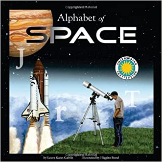 Alphabet of Space - A Smithsonian Alphabet Book (with audiobook CD and poster)