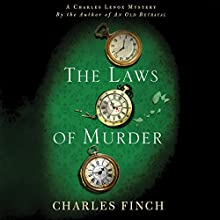 The Laws of Murder: A Charles Lenox Mystery, Book 8 (       UNABRIDGED) by Charles Finch Narrated by James Langton