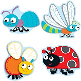 """Amazon.com : """"Buggy"""" for Bugs Cut-Outs : Books : Office Products"""