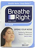 Breathe Right Nasal Strips, Small/Medium, Clear, 30 Count