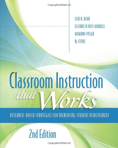 Classroom Instruction That Works: Research-Based Strategies For Increasing Student Achievement, 2Nd Edition front-16952