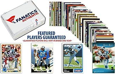 Carolina Panthers Team Trading Card Block/50 Card Lot - Fanatics Authentic Certified - Football Team Sets