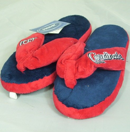 St. Louis Cardinals MLB Flip Flop Thong Slippers at Amazon.com
