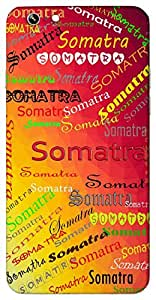 Somatra (Popular Girl Name) Name & Sign Printed All over customize & Personalized!! Protective back cover for your Smart Phone : Apple iPhone 7