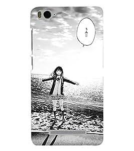 PRINTSHOPPII GIRLY Back Case Cover for Xiaomi Redmi MI 4C::Xiaomi Mi 4C