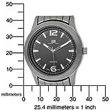 U.S. Polo Assn. Men's US8438 Black Dial Gun Metal Bracelet Watch