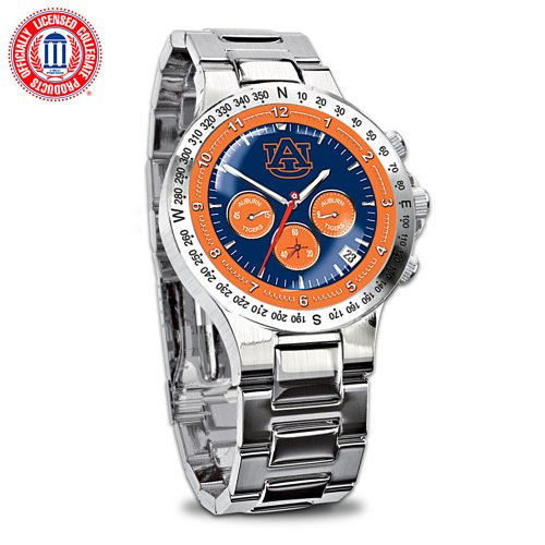 Auburn Tigers Collector's Men's Chronograph Watch at Amazon.com