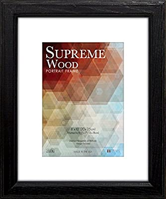 Timeless Frames 12x16 Inch Fits 9x12 Inch Photo Supreme Solid Wood Wall Frame