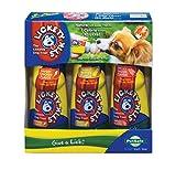 PetSafe Lickety Stik Low-Calorie Liquid Dog Treat, 3-Pack Chicken/Bacon/Peanut Butter