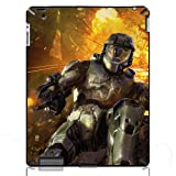 Halo Master Chief Hard Protective Cases Covers for iPad 2/3/4 iMCA-CP-7108 Apple i Pad Tablet PC Housing