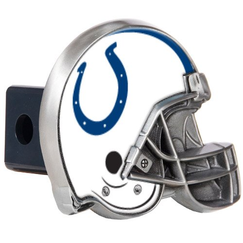 Indianapolis Colts NFL Metal Helmet Trailer Hitch Cover