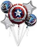 Marvel Captain America The Winter Soldier Party Balloon Bouquet by Anagram