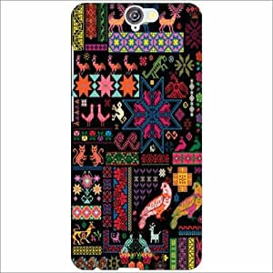 Design Worlds - HTC One A9 Designer Back Cover Case - Multicolor Phone Cover