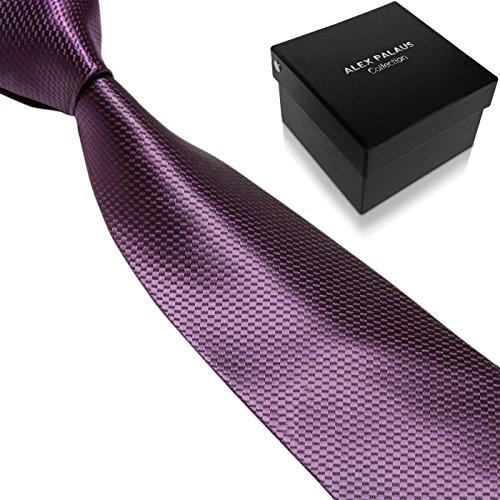 Men's Ties by Alex Palaus Collection (TM) - Premium Designer Necktie with Tie Storage Box (Design 39) (Ti 39 compare prices)