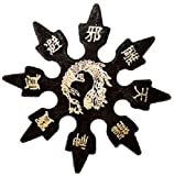 Ninja Rubber Throwing Stars Practice Foam Shuriken - Set of 9